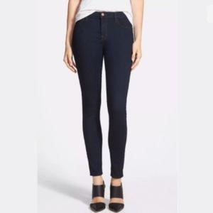 [J. Brand] Dark Wash High Rise Skinny Jean